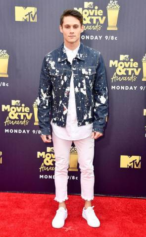 Timothy Granaderos @ MTV Movie&TV Awards
