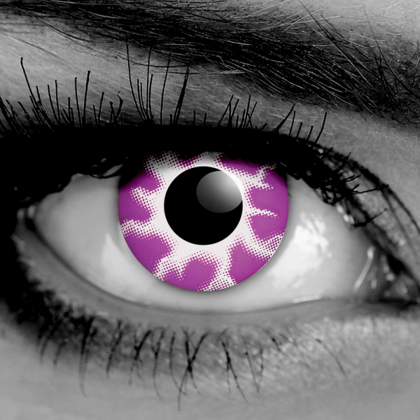GOTHIKA Purple Tempest FX Contact Lenses