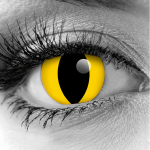 GOTHIKA Yellow Cat Eye Theatrical Contact Lenses