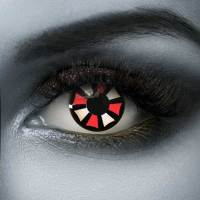 Vampfangs red Resident Evil Halloween contact lenses