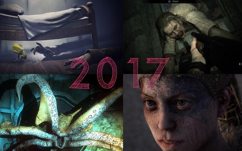 The Best Horror Games Of 2017 | Vampire Squid