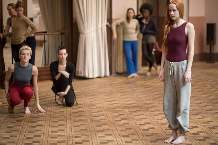 Dakota Johnson stars in SUSPIRIA  Photo: Sandro Kopp/Amazon Studios