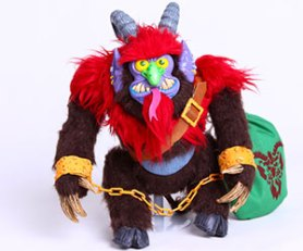 krampus-plush