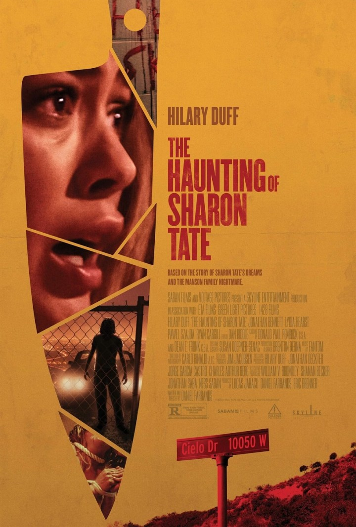 Haunting if Sharon Tate, Poster, Hilay Duff AITH.jpg