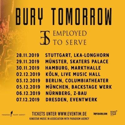 """BURY TOMORROW: """"Black Flame""""-Tour im Herbst 2019"""