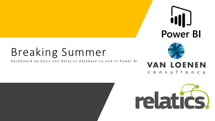 Power BI Relatics Van Loenen Consultancy