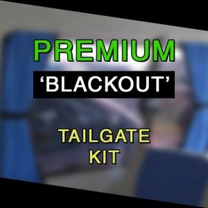 Tailgate Window Premium-Line Curtain Kit for VW T3-0