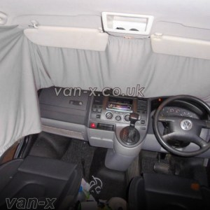 Front Cab Curtain for VW T5 / T6 Transporter Premium-line-0