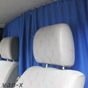 Ford Transit MK7 Cab Divider Curtain Kit-0
