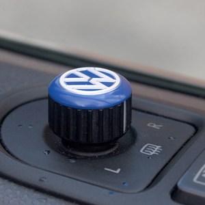Mirror Switch / Cap (Aluminium) for VW T5, T6, Caravelle, California-19962