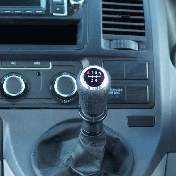 6 Gear Knob Cap / Cover for VW T5 Transporter-19988