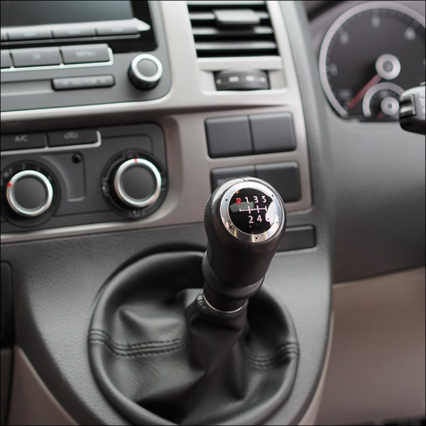 6 Gear Knob Cap / Cover for VW T5 Transporter-7022