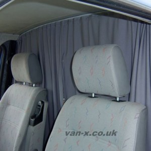 Cab Divider Curtain Kit for Peugeot Boxer-0