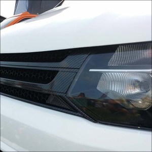 DARK CARBON Badgeless Grille for Volkswagen T5.1 *CLEARANCE* [B Grade] -7947