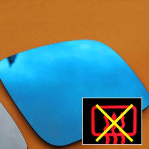 LED Wing Mirror Lens for VW T4 Non-Heated Anti-Glare -0