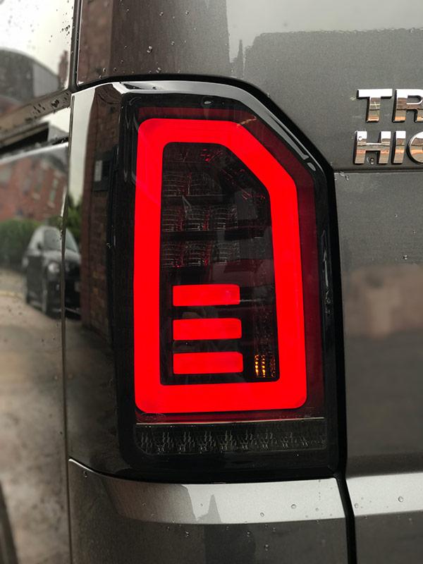 VW T6 Tailgate LED Dynamic Rear Lights-9264