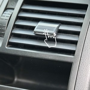 VW T5, T5.1 Updated Air Vent Tab Replacement (Set of 4)-0