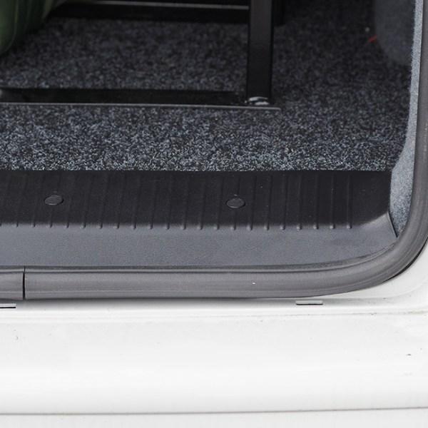 Rear Threshold For VW T5 & T5.1 Barndoor / Twin Door ABS plastic Full length-20571