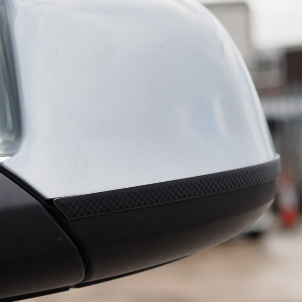 Stainless & Carbon Film Wing Mirror Trims For VW T5.1 / T6-20869
