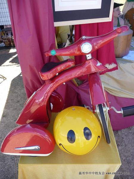古董单车,猜猜它几岁了