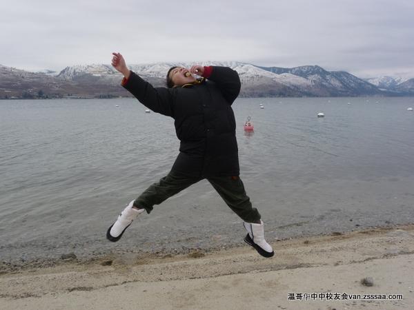 我jump!