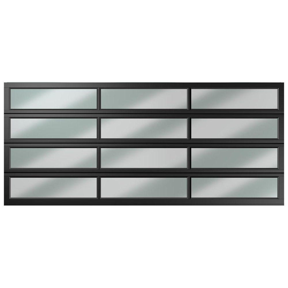 Van Acht Garage Door Aluminium DBL 12 Panel Equal