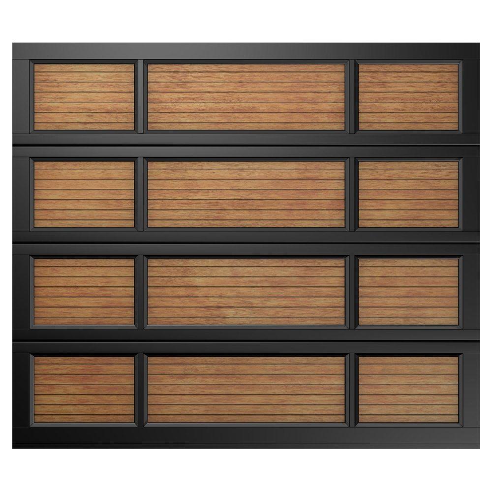 Van Acht Garage Door SNGL 12 Panel Full Yoso