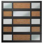 Van Acht Garage Door Single 15 Panel YOSO Type 4 Charcoal Caravan