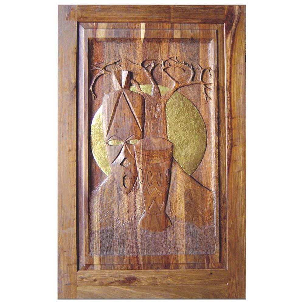 Van Acht Designer Carved Pivot Door Africa 6