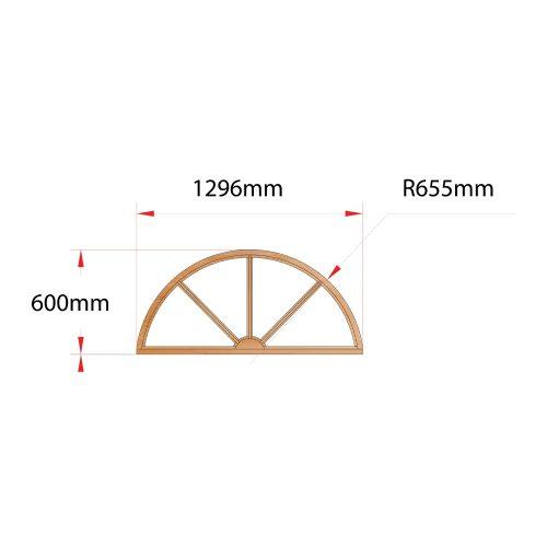Van Acht Wood Arches Door Frames Product H1306 SUNRAY