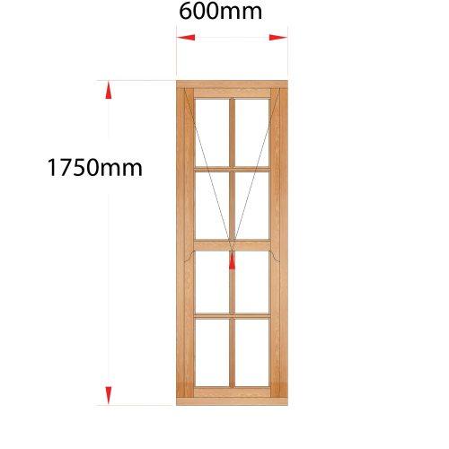 Van Acht Wood Easy Lift Sash Windows Product HMEL7SP