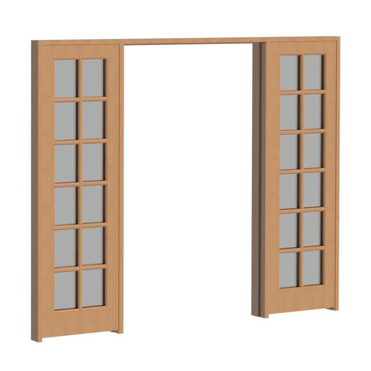 Van Acht Wood Sidelight Door Frame VSLF 6 12 6