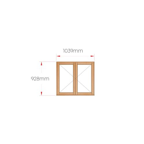 Van Acht Wood Windows Side Hung Full Pane MC22