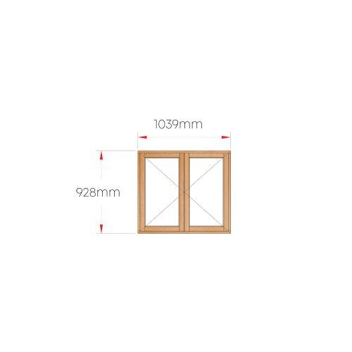 Van Acht Wood Windows Side Hung Full Pane MC22