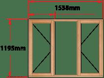 Van Acht Wood Windows Side Hung Full Pane Model MB3