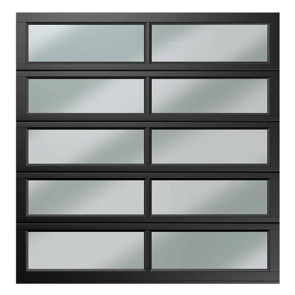 single 10 panel polycarbonate charcoal caravan