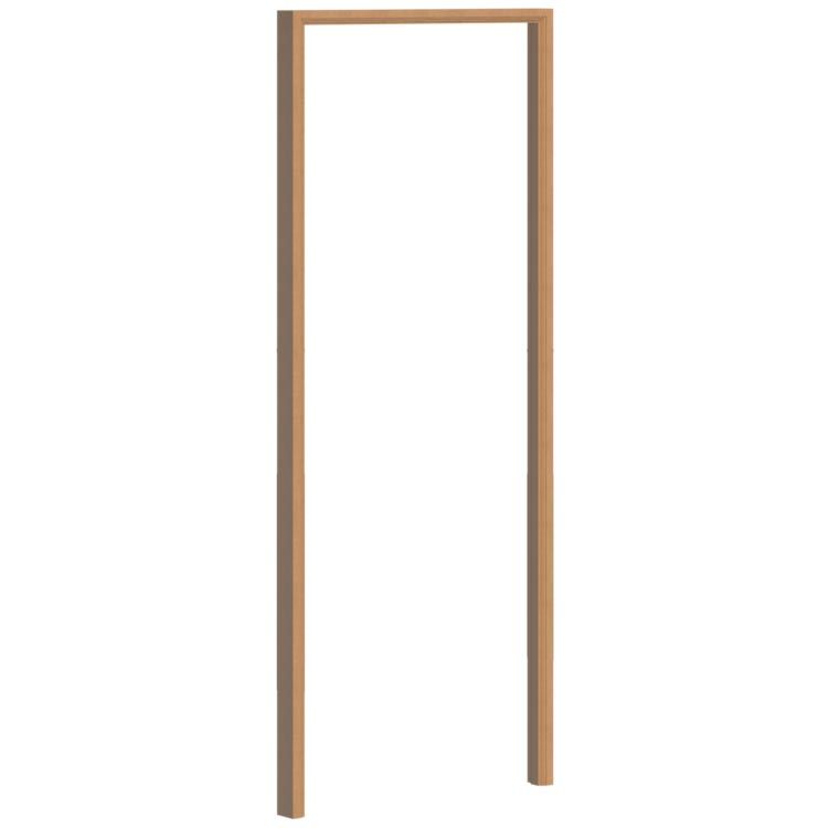 single tall door frame