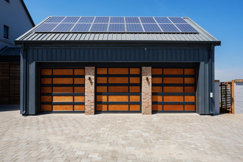 Van Acht Aluminium Garage Doors Contemporary