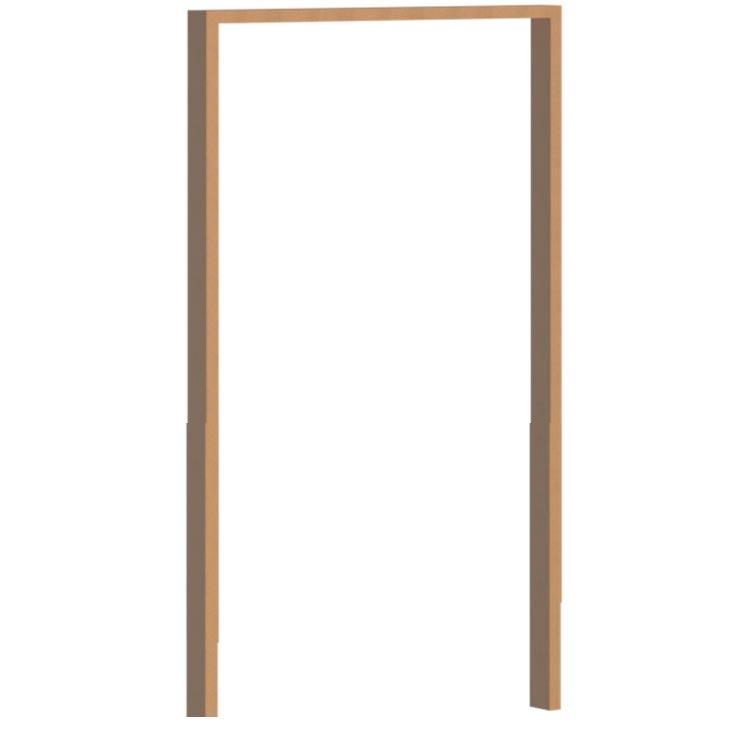 vanacht pivot tall wooden door frame