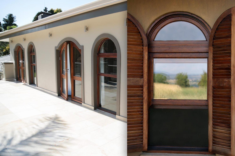 vanacht wood fixed arches