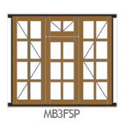 Side Hung Small Pane Fanlight MB3FSP