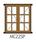 Side Hung Small Pane MC22SP