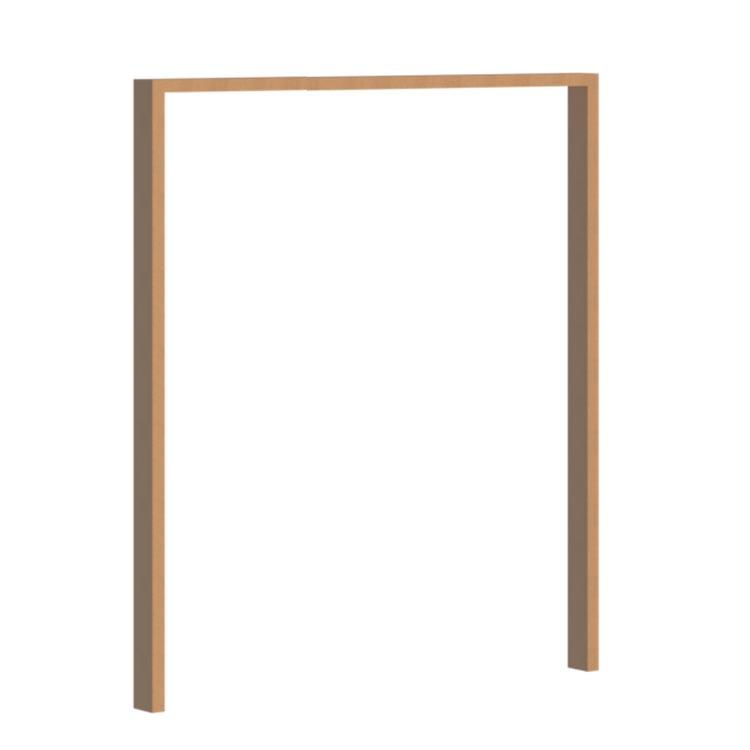 vanacht wooden pivot door frame 1500mm