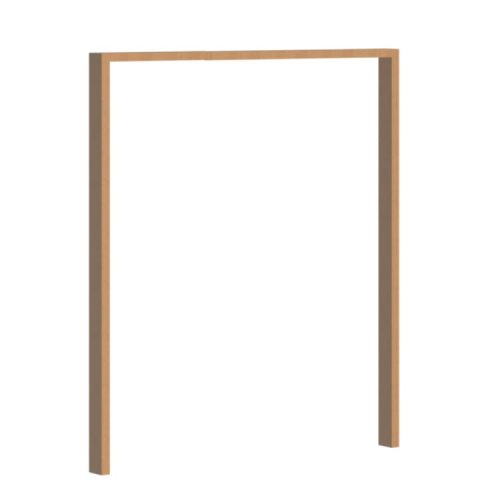 vanacht wooden pivot door frame 1500mm