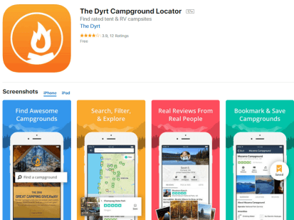 This Is One Of The Very Best Camping Apps Plain And Simple Download It Now From Their Webfind Awesome Campgrounds For Tent Rv Camping Across The