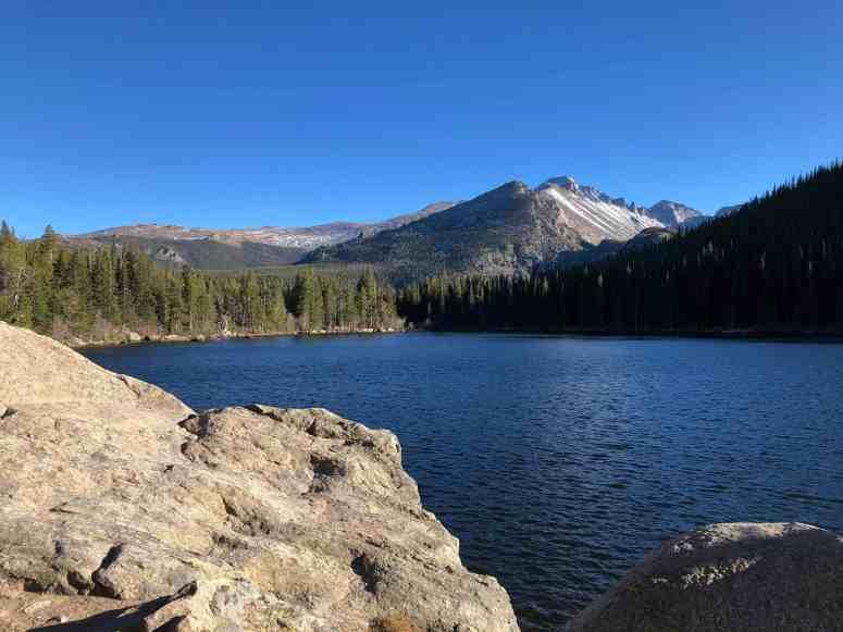 Gorgeous View of Bear Lake Hike