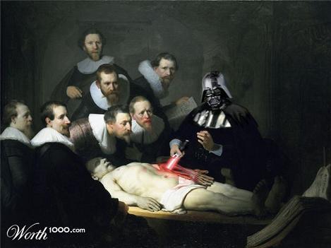 naar: De anatomische les van Dr. Nicolaes Tulp