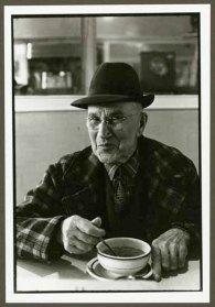 "VPL 88666 ""Portrait of a man in a cafe"". Nina Raginsky. 1972."