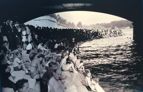 Pariislased Seine'is ujumas