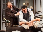 """Ken Ludwig's """"A Comedy of Tenors"""" directed by Stephen Wadsworth features (from left) Ron Orbach, Bradley Dean, and Bobby Conte. PHOTO: Roger Mastroianni"""